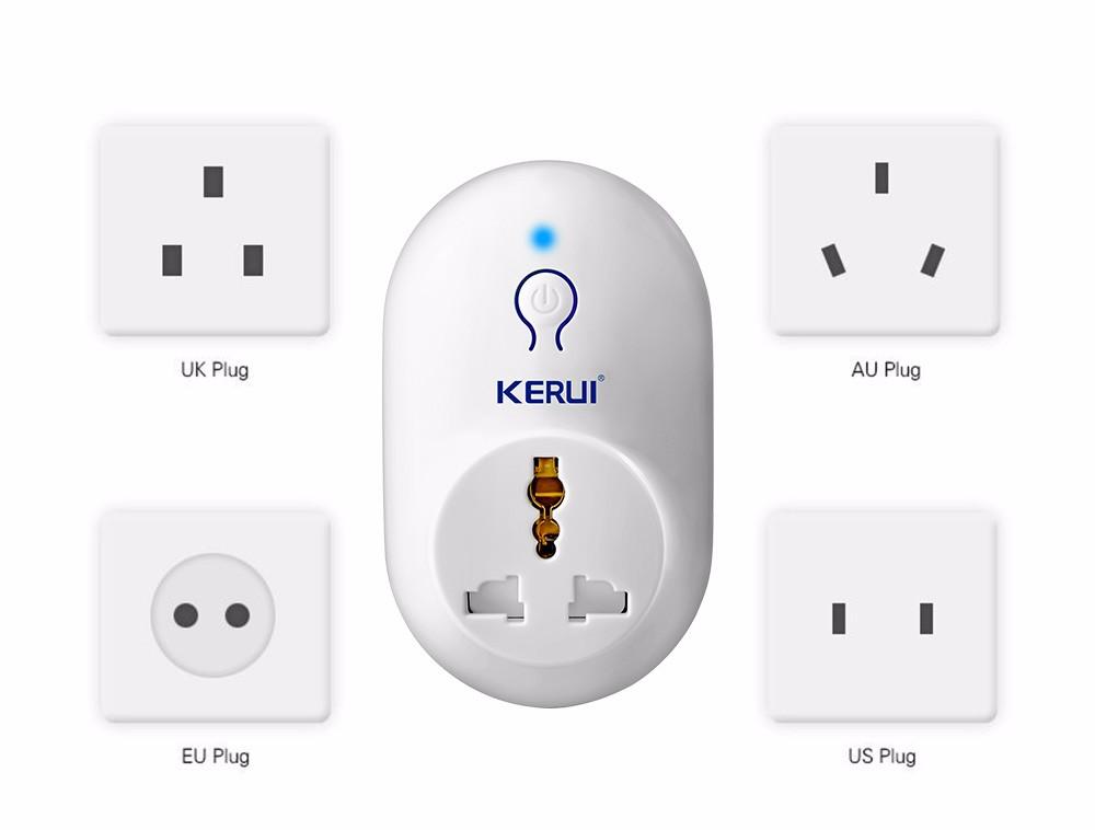 KERUI Wireless Remote Switch Smart Power Socket Plug Lot For Home Alarm System